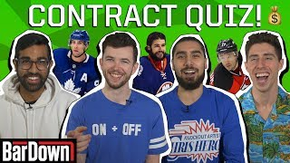 CAN YOU PASS THIS NHL CONTRACT QUIZ?