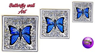 Easy Butterfly Wall Decor   Diy Wall Art   Art And Craft   Fashion Pixies