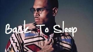 Back To Sleep (Kizomba Remix)   Chris Brown