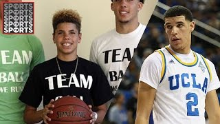 The Ball Brothers Are Taking Over Basketball [LaMelo Ball Calls Half Court Shot]