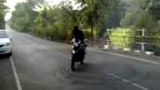 Apache Bikes stunt