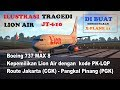 Ilustrasi Jatuhnya Pesawat LION AIR JT610 [X-Plane 11]