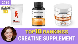 Best Creatine Supplement Top 10 Rankings, Review 2019 & Buying Guide