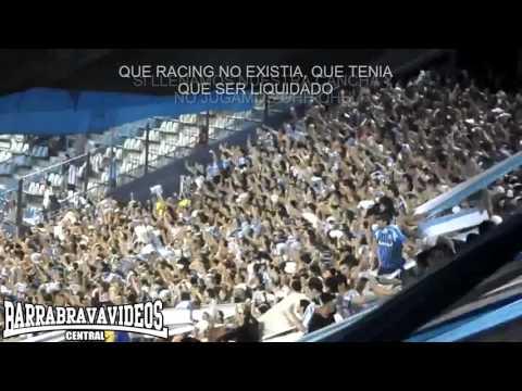 """""""De pendejo te sigo / La Guardia Imperial / Racing club   Letra HD"""" Barra: La Guardia Imperial • Club: Racing Club • País: Argentina"""