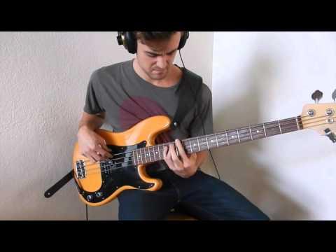 Hiatus Kaiyote- Molasses (Bass play along)