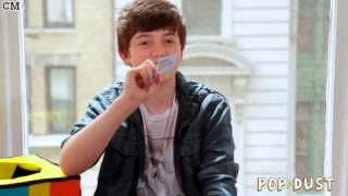 Грейсон Ченс, Popdust Magic Box Interview: Greyson Chance [Rus Sub]