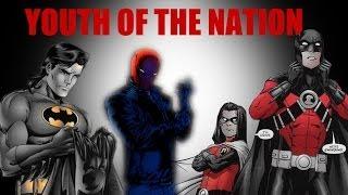 Youth of the Nation || Dick + Jason + Tim + Damian (Bat Family)