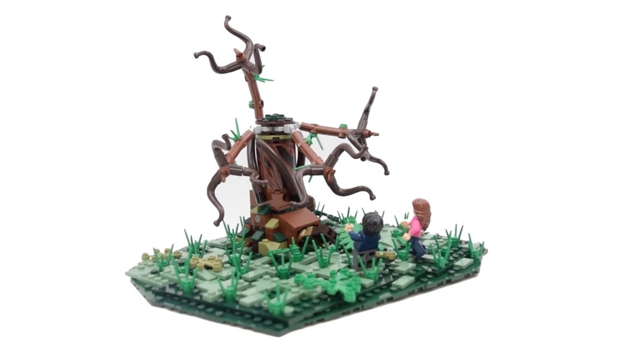 LEGO Harry Potter The Whomping Willow Attack MOC // Harry Potter And The Prisoner Of Azkaban