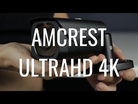 Amcrest UltraHD 4K PoE Outdoor Camera Review Using Amcrest Cloud (IP8M-2496EB)