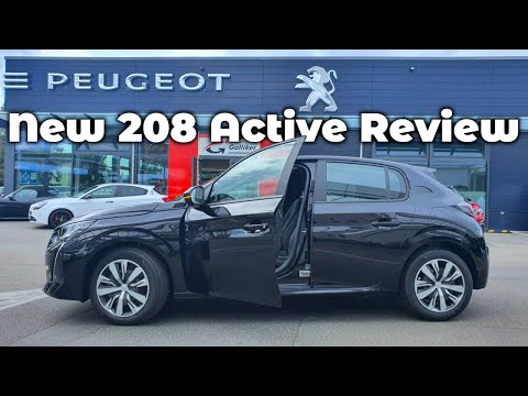 New Peugeot 208 Active 2020 Review Interior Exterior