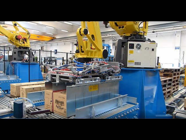Robby Pal: Robotic row palletiser