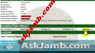 Jamb Result UPgrading To 250