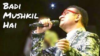 Badi Mushkil Hai Khoya Mera Dil Hai | Abhijeet | Anjaam 1994 Songs | Abhijeet Live