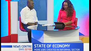 State of economy:Leading sectors in job creation