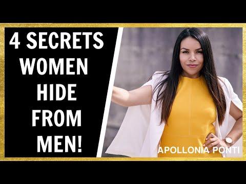 4 Secrets Women Hide From Men!