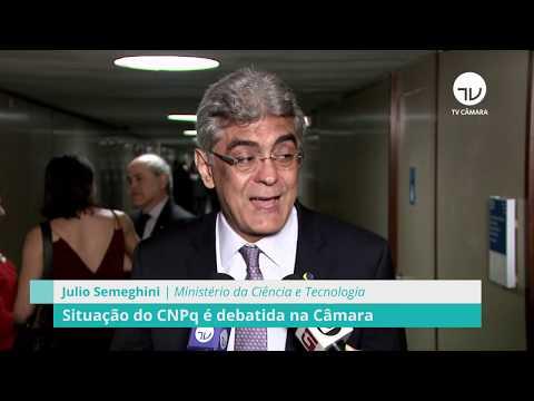 Comissão debate situação do CNPq - 28/08/19