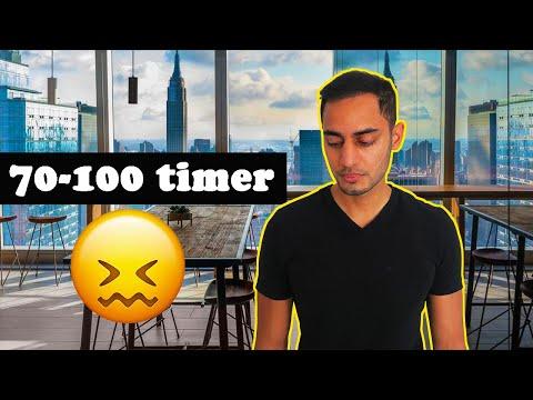 Hvorfor jeg arbejder +70 timer om ugen