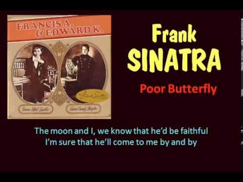 Poor Butterfly  Frank Sinatra  Lyrics