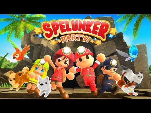 Spelunker Party! Announcement Trailer thumbnail