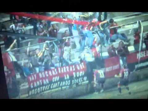 """LEGION ROJA Y NEGRA WALTER FERRETI"" Barra: Legión Roja y Negra • Club: Walter Ferretti"