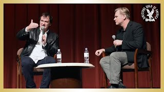 The Hateful Eight DGA Q&A with Quentin Tarantino and Christopher Nolan