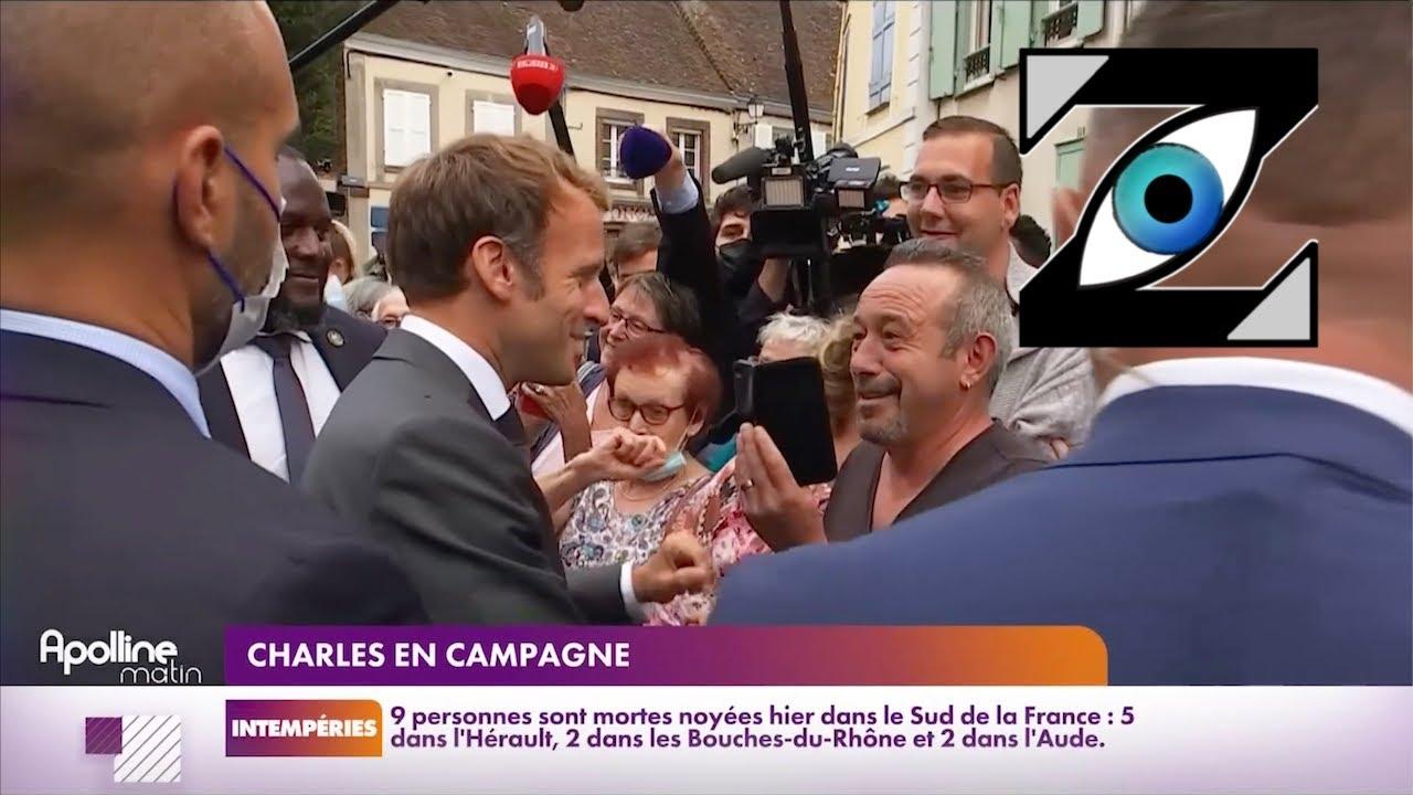 [Zap Télé] Quand Emmanuel Macron pousse la chansonnette sur du Sheila ! (17/09/21)