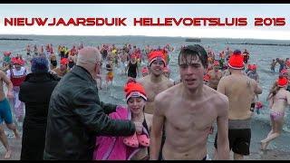 Nieuwjaarsduik Hellevoetsluis 2015