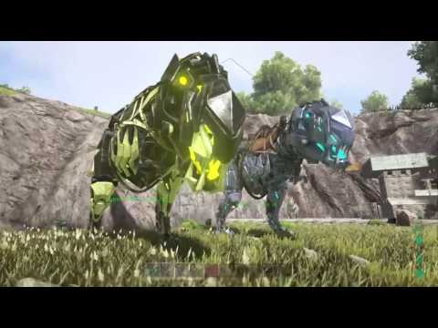 ark survival evolved xbox how to change bionic rex colors