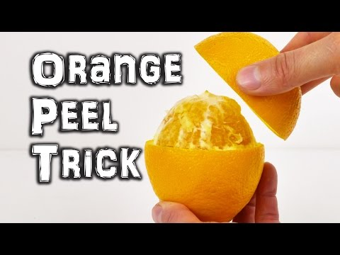 Learn How To Serve An Orange Like A Fancy Restaurant With This Video