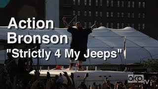 "Action Bronson ""Strictly 4 My Jeeps"" LIVE"