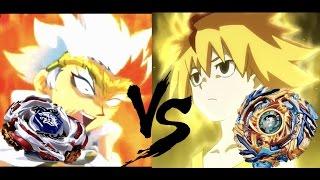 SPIN STEAL DRAGONS!   Drain Fafnir G.Sp. VS Meteo L-Drago   Beyblade Generations Battle