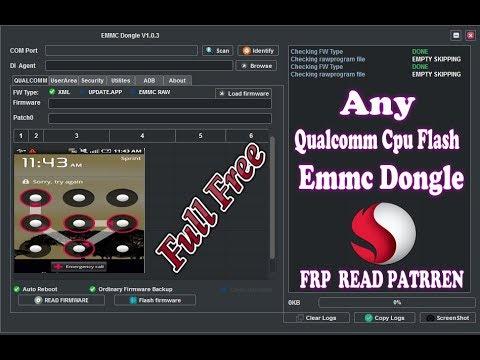 How to flash qualcomm cpu emmc dongle crack - смотреть онлайн на Hah