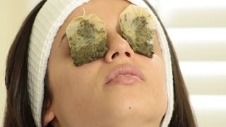 How to Use Green Tea to Reduce Swollen Eyes
