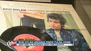 Bob Dylan Archive Finds Tulsa Home