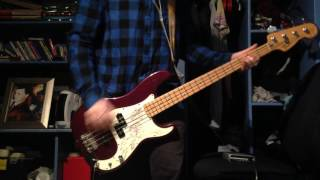 Joyce Manor - Catalina Fight Song Bass Cover