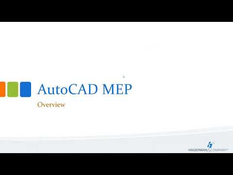 Introduction to the AutoCAD MEP Toolset - YouTube
