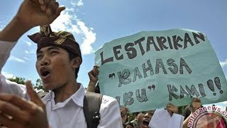 Eksistensi Bahasa Bali Makin Tergerus, Hanya 12,73% Orangtua yang Ajarkan pada Anaknya