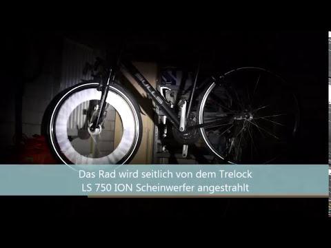 3M Speichenreflektoren unter Lichteinfall