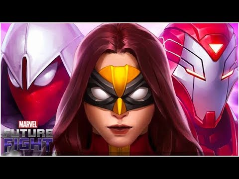 VISUALLY STUNNING HEROES🔥 & THANOS 💀 (Update 4.4 Reaction) - Marvel Future Fight