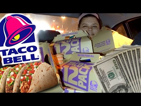 SPENT $400 AT TACO BELL!!