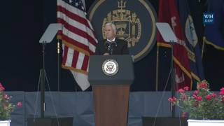 Vice President Pence Delivers the Commencement Address at the United States Naval Academy