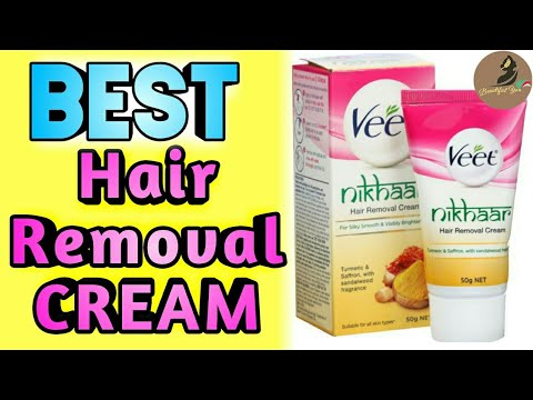 Veet Nikhaar Hair Removal cream Review | How to use veet hair removal cream for women & men