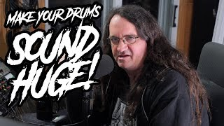 Monday Mix Tips:  How to get a Huge Drum Room Sound