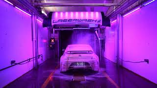 Touchless Car Wash with Lights