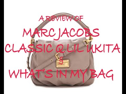 Marc Jacobs Classic Q Little Ukita – Review & What's In My Bag