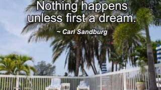 Live Your Dreams - Famous Dream Quotes Video