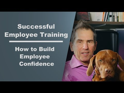Improve Employee Training by Boosting Self-Confidence - YouTube