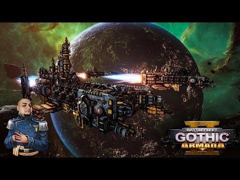 [18+] Шон играет в Battlefleet Gothic Armada 2 - стрим 18 (PC, 2019)