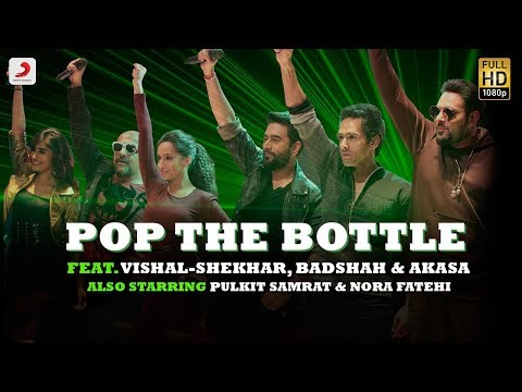 Hình ảnh Youtube -  Pop The Bottle - Vishal | Shekhar | Badshah | Akasa | Pulkit | Nora | Remo