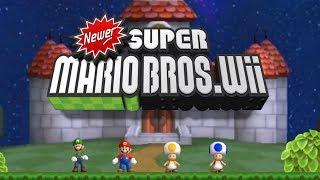 Newer Super Mario Bros Wii   Complete Walkthrough (All Worlds)